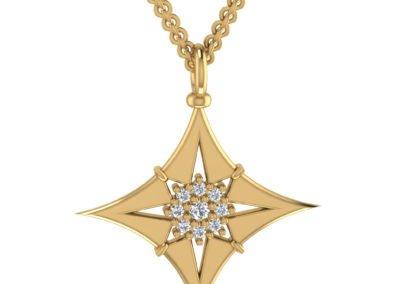 Star Compass Pendant