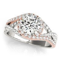 Multi Row Engagement Ring